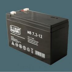 Acumulator vrla agm fara intretinere 7ah 12v. terminal de conexiune