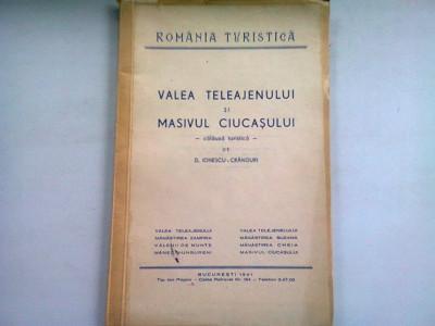 VALEA TELEAJENULUI SI MASIVUL CIUCASULUI - D. IONESCU CRANGURI foto