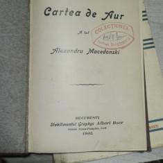 Cartea de Aur al lui Alexandru Macedonski, 1902