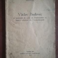 Vaclav Budovec si incercarile de unire ale Protestantilor cu biserica ortodoxa din Constantinopole- Milan P. Sesan