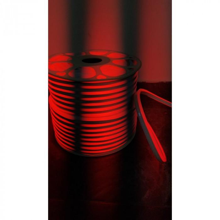 Rola Neon Flex ROSU Furtun Luminos LED 100 m rosu / neon flexibil