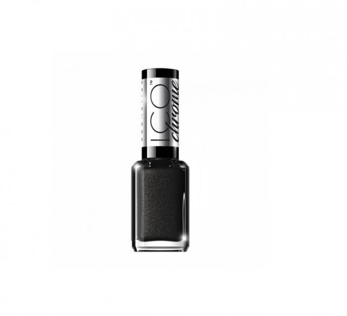 Lac de unghii, Eveline Cosmetics, ICO Chrome collection, Fast Dry & Long-Lasting, Nr. 49, 12 ml
