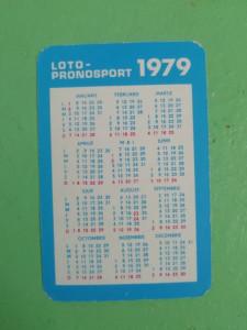 CCO - CALENDARE FOARTE VECHI - ANUL 1979 - NR 5
