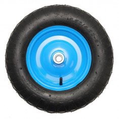 Roata roaba cu rulment albastra TT 4.00-8 4PR