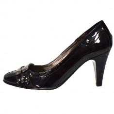 Pantofi dama, din piele naturala, marca Gatta, 516DP967267LM-1, negru , marime: 36