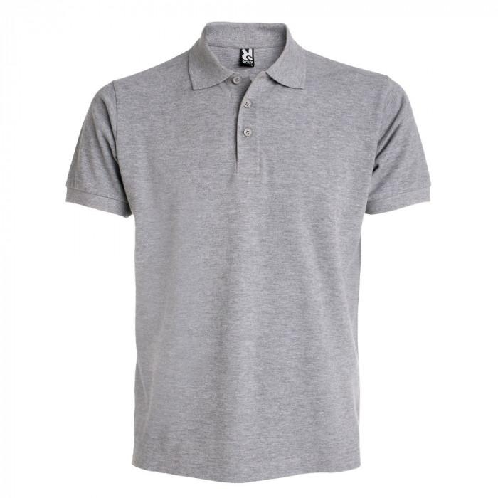 Tricou polo bartati Estrella Men Polo Shirt grey PO6615GREY