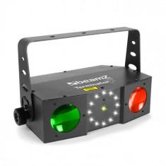 Beamz Terminator IV efect 3in1 cu efect moonflower, cu laser și stroboscop