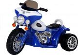 Motocicleta electrica pentru copii cu certificat CE Chopper JT Police