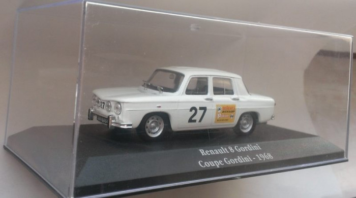Macheta Renault 8 Gordini (Dacia 1100) 1968 - Atlas Rally 1/43