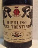 B 15- VIN RIESLING DEL TRENTINO, CAVIT, recoltare 1969 cl 68 gr 12, Sec, Alb, Europa