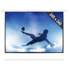 FrontStage Ecran Proiecție tip Roll Up HDTV 240x240cm