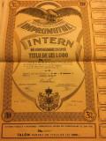 """Regatul României - Titlu de 1000 lei """"Împrumutul Intern de Consolidare 1935"""""""