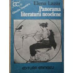 Panorama Literaturii Neoelene - Elena Lazar ,282740