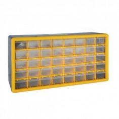 Organizator accesorii Strend Pro SBx3045-F, 40 sertare, 50x16x25cm