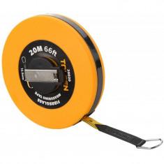 Ruleta din fibra de sticla Tolsen, 30 m x 12.5 mm, carcasa ABS