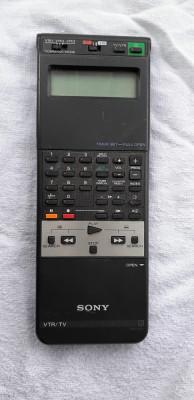 SONY RMT -257 . PENTRU  VTR/TV PENTRU VIDEO RECORDER SI TV foto