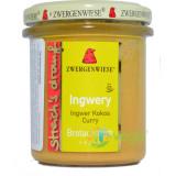 Crema Tartinabila Ingwery cu Ghimbir, Cocos si Curry Ecologica/Bio 160g
