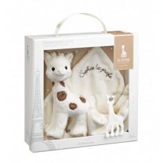 Set cadou Girafa Sophie Cherie si batistuta Comforter - Vulli