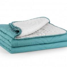 Set Cuvertura Pat Turquoise 170x240 Relax KipRoom