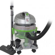Aspirator filtrare apa ZASS ZVC 06, 1600W, Filtru Hepa, 7.5L (Gri-Verde)