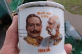 Cana portelan pictata cu Franz Jozsef si Wilhem al-II-lea.Reducere!, Peterhof