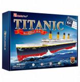 Cumpara ieftin Puzzle 3D - Nava Mare Titanic, 113 piese, CubicFun