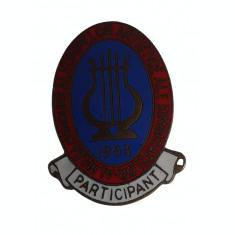 Insigna II-lea conc.art.a Sindicatelor, Participant 1953