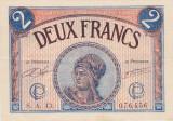 FRANTA 2 FRANCS FRANCI CHAMBRE DE COMMERCE DE PARIS 1919 XF