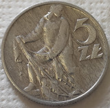 Moneda 5 ZLOTI - POLONIA, anul 1959 *cod 1801 - excelenta