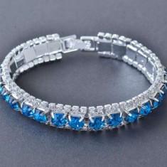 Bratara Blue Crystal