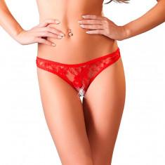 Bikini Rosii Broderie