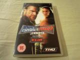 Joc Smackdown vs Raw 2009, PSP, original, alte sute de titluri, Sporturi, 16+, Multiplayer, Thq