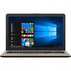 Laptop Asus VivoBook 15 X540MA-GO550T 15.6 inch HD Intel Celeron N4000 4GB DDR4 256GB SSD Windows 10 Home Chocolate Black