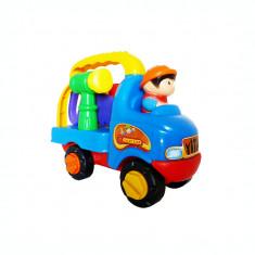 Masina camion lego cu unelte
