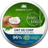 Body Unt pentru Corp cu Ulei de Cocos 200ml, Cosmetic Plant