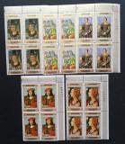 YEMEN A.R. 1972,Picturi- 4 Serii a  5 V...NEOB. YAR 014A