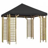 Pavilion, antracit, 3 x 3 m (310032+47711)