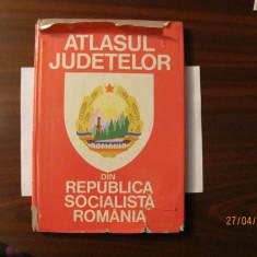 """PVM - Vasile CUCU """"Atlasul Judetelor din Republica Socialista Romania"""""""