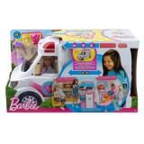 Jucarie Mattel Barbie Large Ambulance & Hospital Care Clinic Rescue Vehicle