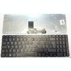 Tastatura Laptop, Toshiba, Satellite L50-B-2CQ, fara rama, neagra, UK, second hand