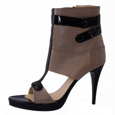Sandale dama, din piele naturala, marca San Savana, 555-3, bej 38