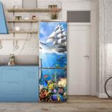 Sticker Tapet Autoadeziv pentru frigider, 210 x 90 cm, KM-FRIDGE-10