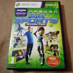 Joc Kinect Sports Season Two, XBOX360, original, alte sute de jocuri!, Sporturi, 3+, Multiplayer