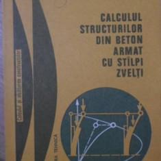 CALCULUL STRUCTURILOR DIN BETON ARMAT CU STALPI ZVELTI - R. AGENT, V. BANUT