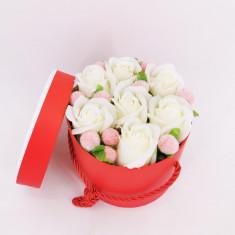Set cadou Trandafiri sapun 2