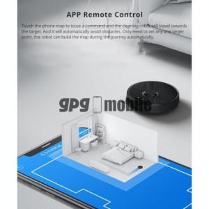 Aspirator Inteligent Xiaomi MiJia Roborock S55 v2 Black Ed., Control Aplicatie, Silentios, Aspirare, Curatare, Stergere, Mop