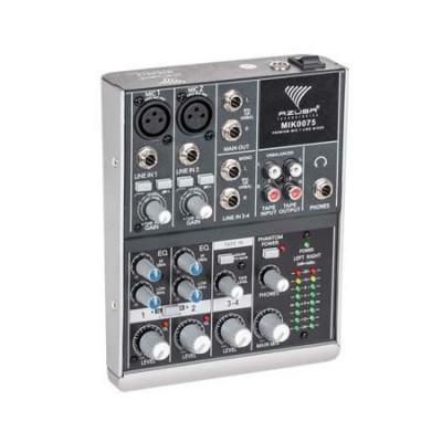 Mixer audio Azusa, 4 canale, 8 W foto