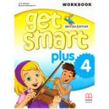 Get Smart Plus 4 Workbook + CD-ROM British Edition - H. Q. Mitchell, Marileni Malkogianni