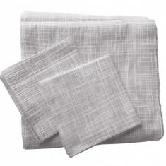 Set de cuverturi pentru canapea si fotolii , Fust 171 Gri