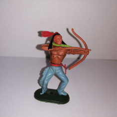 bnk jc Figurina de plastic - indian - Hong Kong copie Timpo